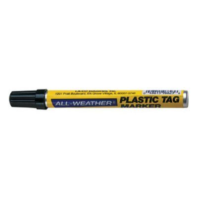 Markal Plastic Tag All Weather Paint Marker – Black