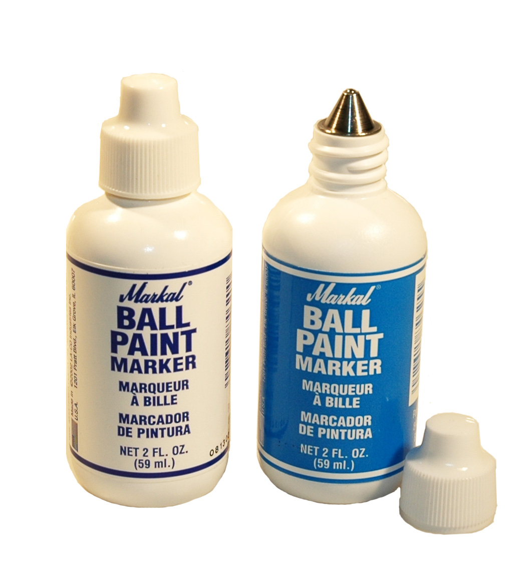 Markal Ball Paint Marker - Red