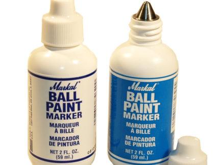 Markal Ball Paint Marker - Blue