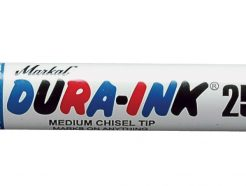 Markal Dura Ink 25 King Size Chisel Tip  Marker - Red