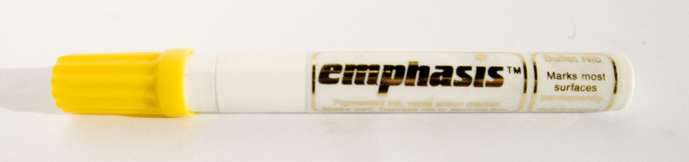 Emphasis Liquid Paint Marker - Yellow