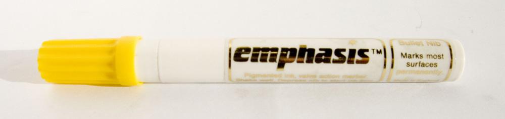 Emphasis Liquid Paint Marker - Black