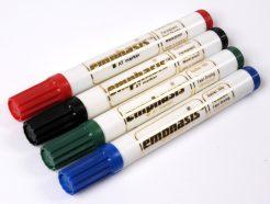 Emphasis Permanent Marker Pen - Bullet Tip - Black - AT