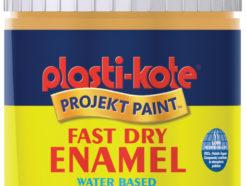 Plastikote Fast Dry Enamel Brush On (59ml) - Sunshine Yellow
