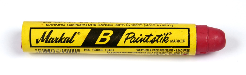 Markal B Paintstik Marker - Red
