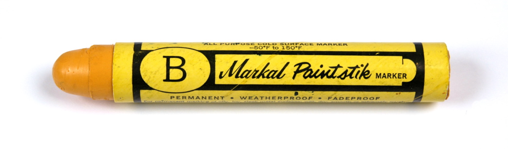 Markal B Paintstik Marker - Yellow