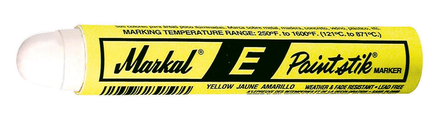 Markal E Painstik Marker - Yellow