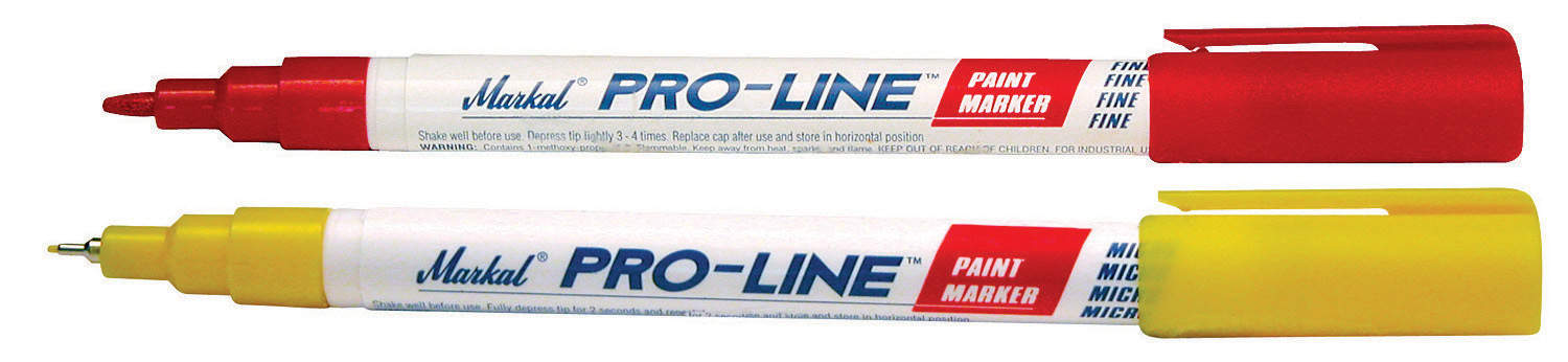 Markal Pro Line Micro Paint Marker - White