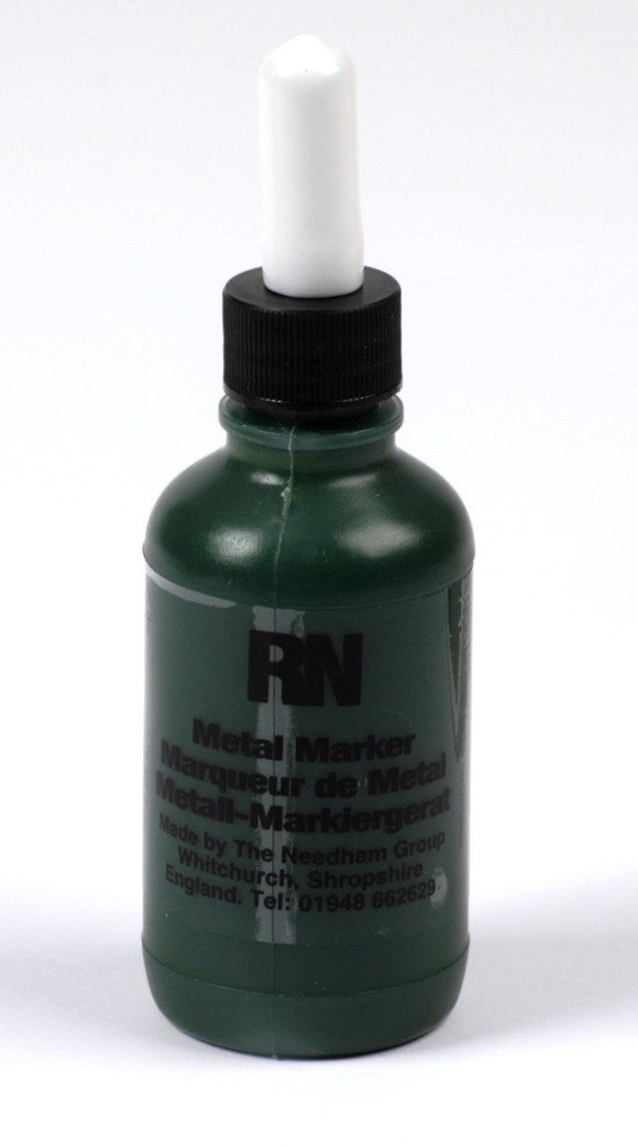 Britink Metal Marker (Ball Paint Marker) - Toughpoint Tip - Green