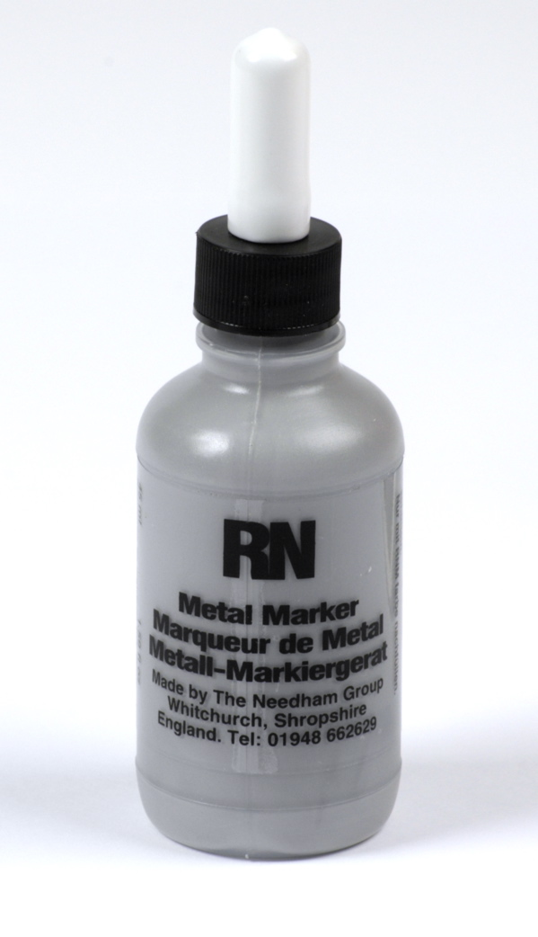 Britink Metal Marker (Ball Paint Marker) - Standard Tip - Grey