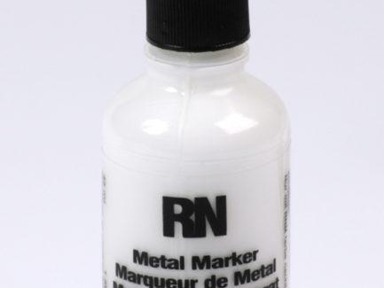 Britink Metal Marker (Ball Paint Marker) - Standard Tip - White