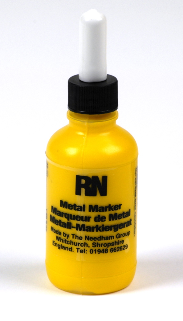 Britink Metal Marker (Ball Paint Marker) - Standard Tip - Yellow