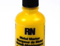 Britink Metal Marker (Ball Paint Marker) - Toughpoint Tip - Yellow