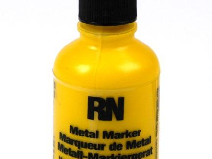 Britink Metal Marker (Ball Paint Marker) - Toughpoint Tip - Yellow