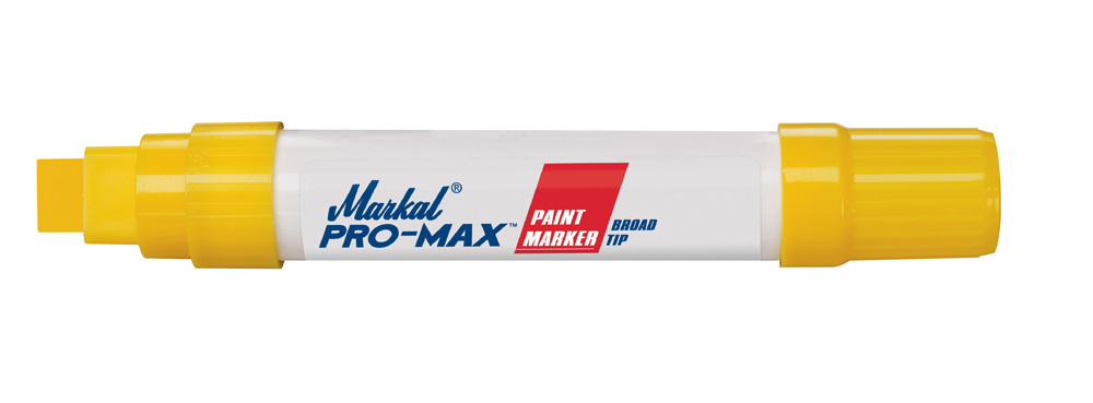 Markal Pro Max Broad Tip Paint Marker - Yellow