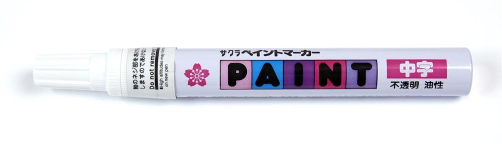 Sakura Liquid Paint Marker - Fine Tip - Red