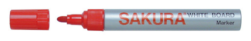 Sakura White Board Marker - Red