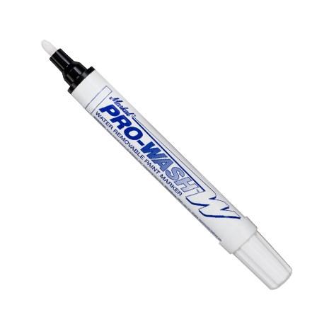 Markal Pro Wash W Paint Marker – White